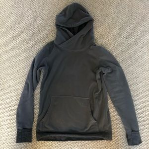 Lululemon gray hooded sweatshirt